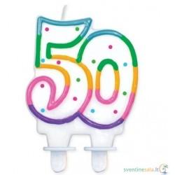 """Torto žvakutė """"50"""""""