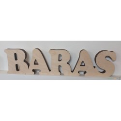 """Graviruotas pastatomas """"Baras"""""""