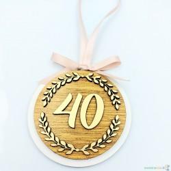 """Medalis """"40 metų"""""""
