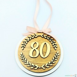 """Medalis """"80 metų"""""""